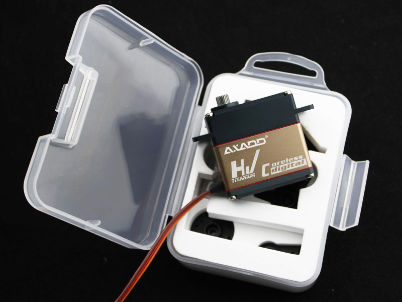 CTV821 Large Helicopter Servo 68g / 5.9kg-cm / 0.03sec @ 7.4V Digital Coreless Fast Servo