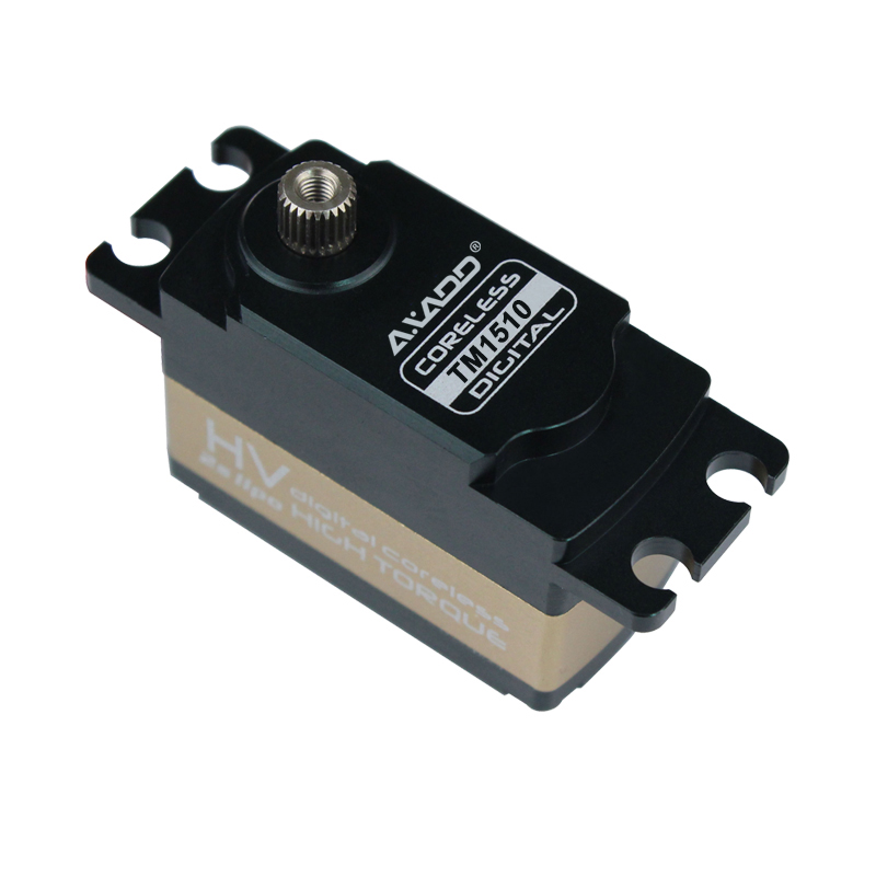 Low Profile Digital Servo High Toque TM1510 60g/15kg/0.11s/7.4V High Torque Coreless Digital HV Low Profile Servo