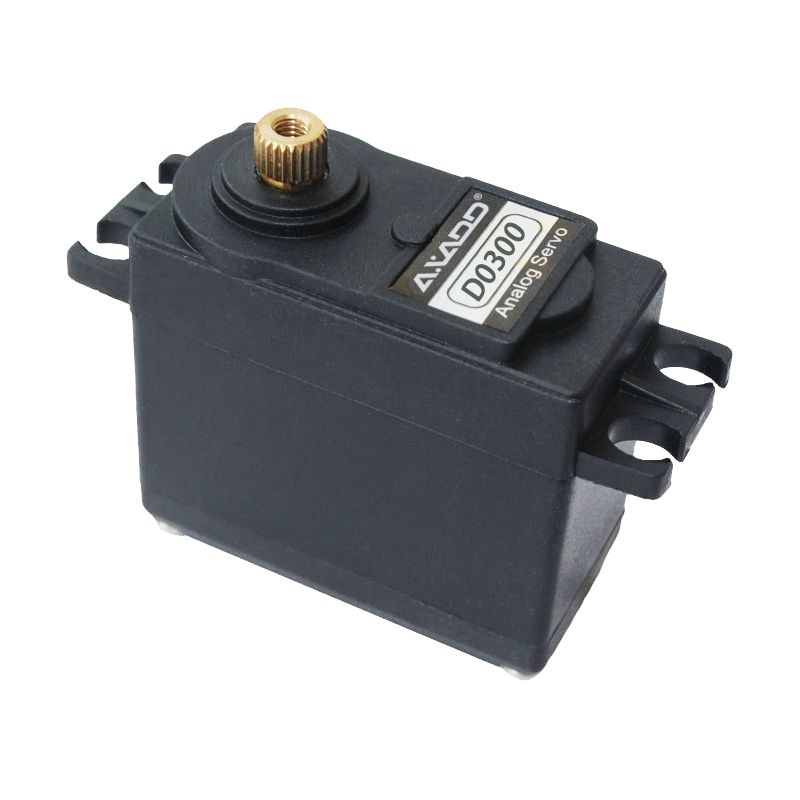 D0300 Large Airplane Servo 55g / 4.5kg-cm / 0.12sec @ 6V RC Airplane, Car, Boat, Robot and Retract Landing Gear