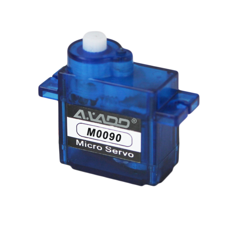 M0090 RC Plastic Gear Analog Servo for RC Fixed-wing Copters Gliders 9g/1.8kg/0.09s