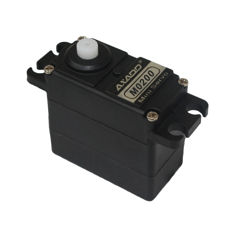 M0200 Mini Helicopter Servo 16g/3.3kg-cm/0.13sec @ 6V Superb quality micro servo for use with smaller scale models