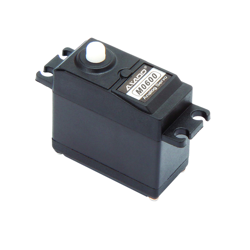 M0600 Standard Airplane Servo 40g / 6.8kg / 0.13sec @ 6V Commonly used Analog Plastic Gear Servo RC Standard Size Servo