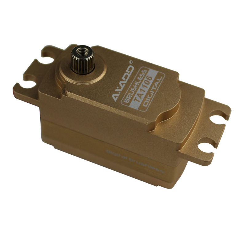 TA1106 Large Airplane Servo 55g / 10kg-cm /0.06sec @ 7.4V HIGH VOLTAGE LOW PROFILE Brushless Servo