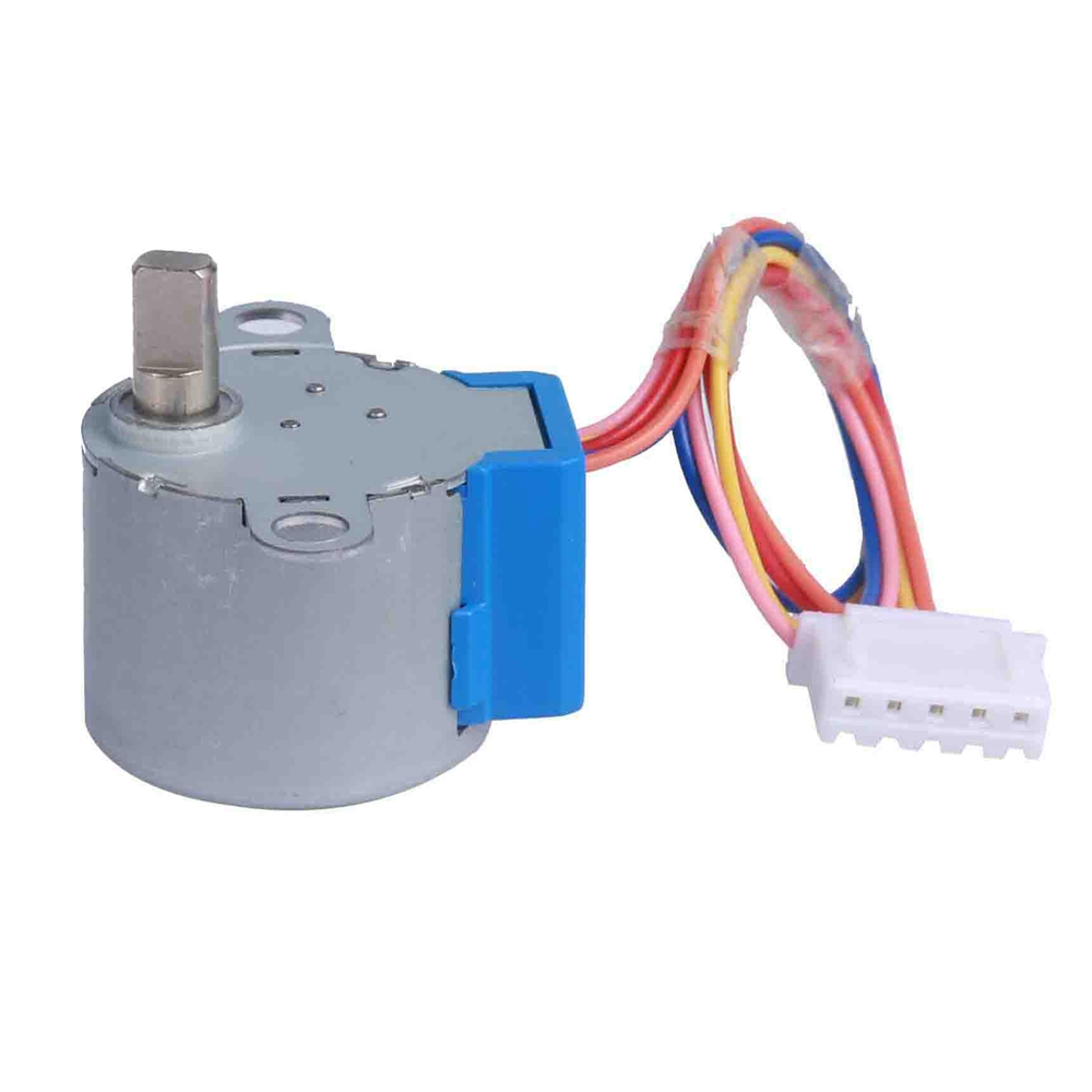 AXADD 24BYJ stepper motor/stepping motor, stable performance 1:16;1:32;1:64 gear motor for stage lighting control/instrument/security Equipments etc.