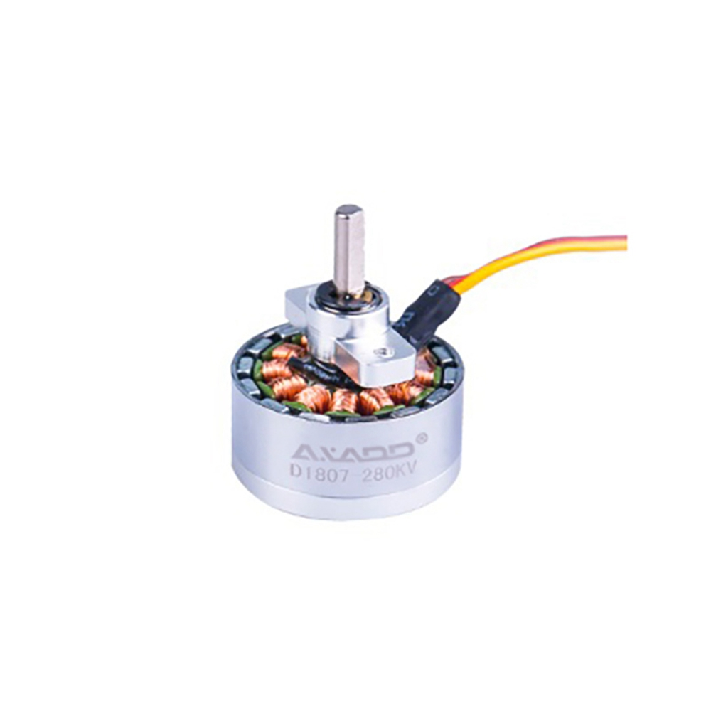 AXADD D1807 17g 11.1V High Performance RC Hobby Brushless Motor Specialized For Tumbling Shaft/Pitch Axis Platform