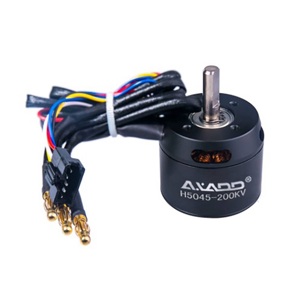 AXADD H5045 electric remote control scooter brushless motor, a sigle motor with deceleration pulley can load 60kg